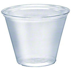 Solo 174 Ultra Clear Clear Pet Cup 9 Oz Squat Matera