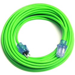 Pro Power Lime Green Lighted 50 Extension Cord Matera