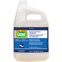 P Amp G Comet 174 Disinfecting Cleaner W Bleach Gal Closed