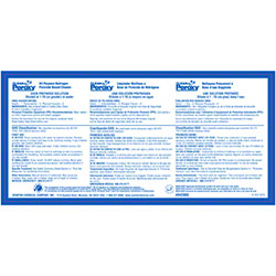 Spartan Secondary Label For Clean By Peroxy Matera Paper