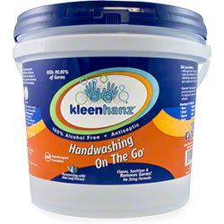 Kleenhanz 174 Sport Antimicrobial Towelette Pail 500 Ct