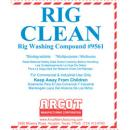 Arcot Rig Clean Rig Washing Compound & Degreaser - 100 lb.