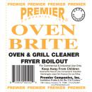 Premier Oven Brite Oven & Grill Cleaner - Gal.