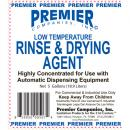 Premier Low Temp Rinse & Drying Agent - Gal.