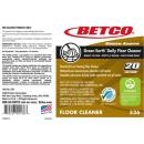 Betco® Green Earth® Daily Floor Cleaner Label Only