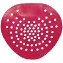 Tolco® Deluxe Urinal Screen - Cherry, Red, 12 Pack